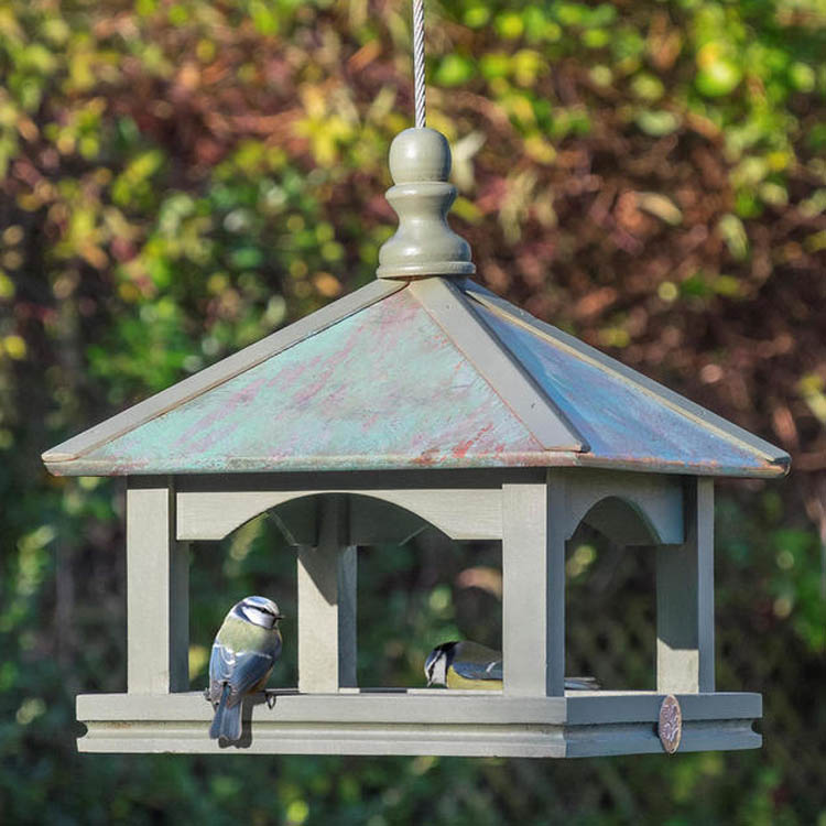 Classic Copper Bird Table by Wildlife World