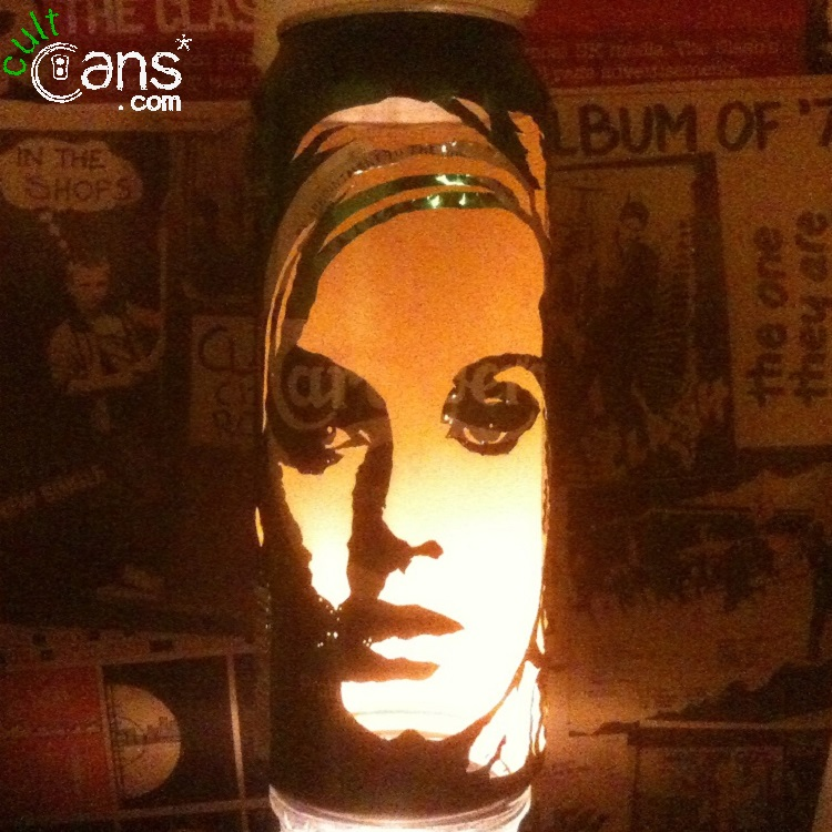 Adele Beer Can Lantern