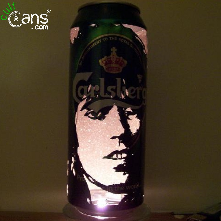 Keith Richards Beer Can Lantern