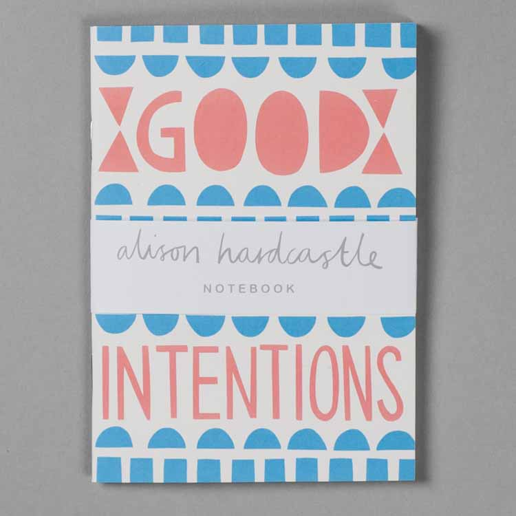 Good Intentions Recycled Notebook