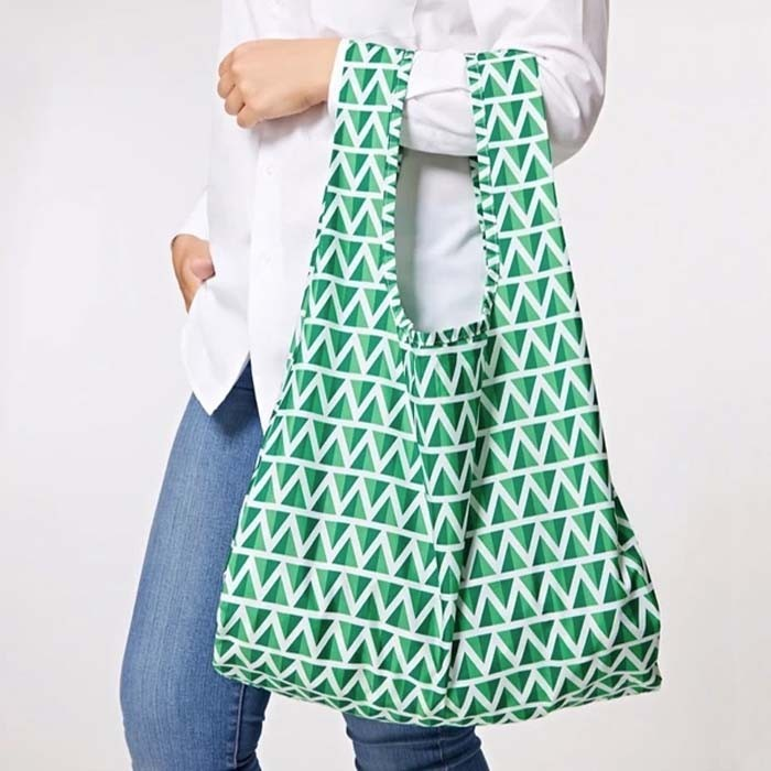 Reusable Mint Shopping Bag by Kind Bag