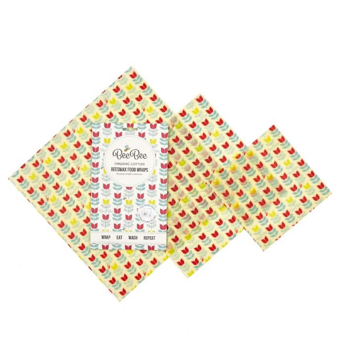 Tulips Beeswax Food Wrap Pack