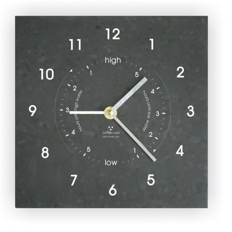 Time and Tide Wall Clock