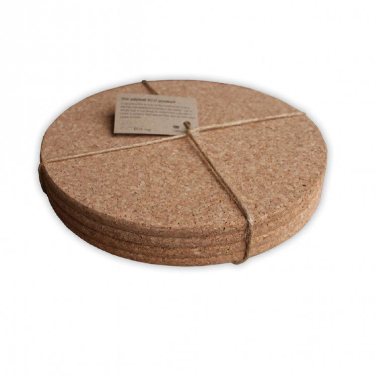 Cork Placemats and Coaster Set
