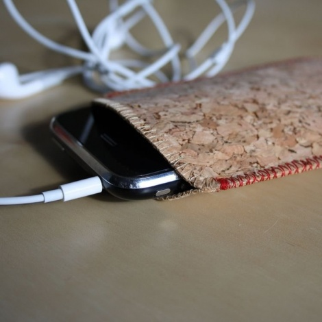 Cork iPhone Sleeve